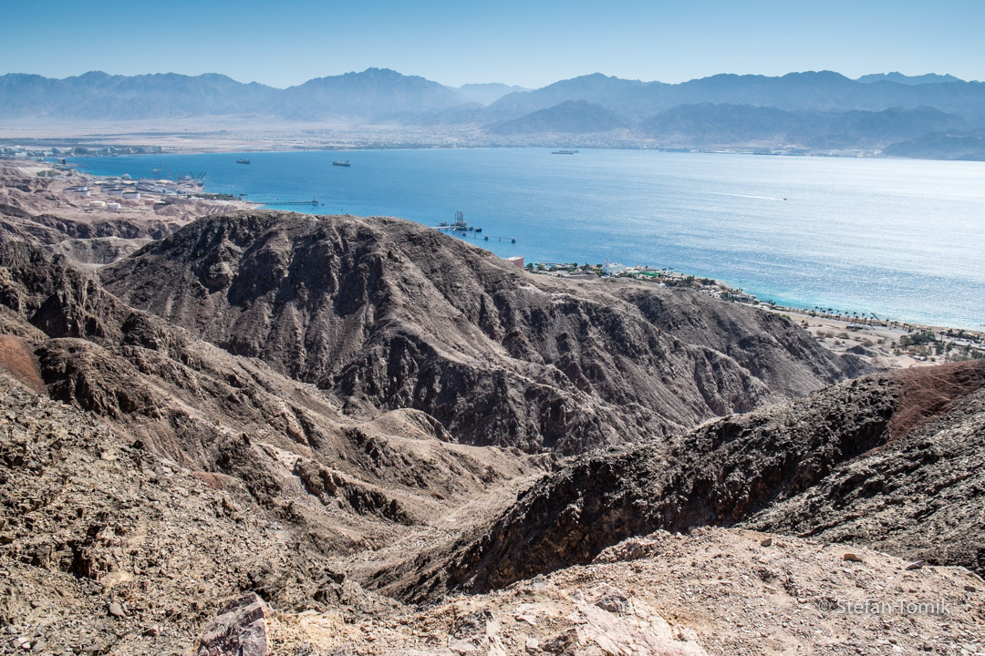 Eilat am Roten Meer auf dem Israel National Trail