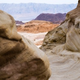 Im Timna Park am Israel National Trail